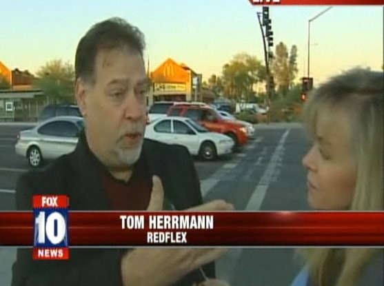 Redflex spokesman Tom Herrmann, 12-6-11, Fox